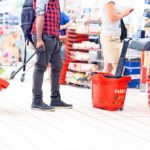 kolejka supermarket