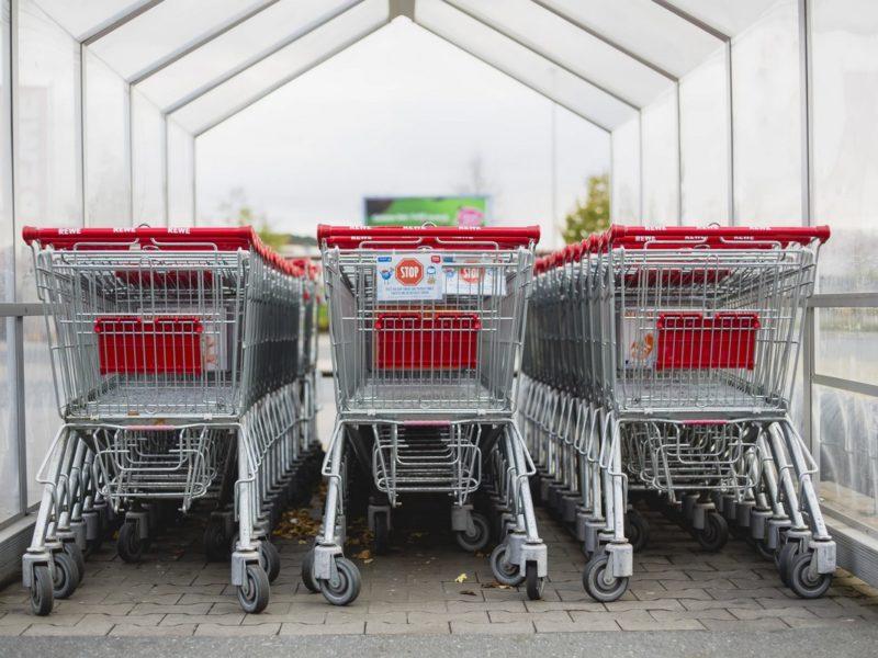 Koszyki supermarket